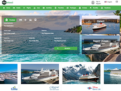 Cruises Booking Engine